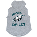Philadelphia Eagles Dog Pet Premium Button Up Property Of Hoodie Sweatshirt