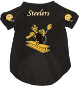 Pittsburgh Steelers Dog Pet Mesh Football Jersey Throwback