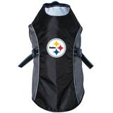 Pittsburgh Steelers Dog Pet Premium Reflective Jacket