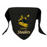 Pittsburgh Steelers Dog Pet Mesh Football Jersey Bandana Throwback