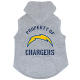 San Diego Chargers Dog Pet Premium Button Up Property Of Hoodie Sweatshirt