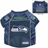 Seattle Seahawks Dog Pet Premium Alternate Mesh Football Jersey