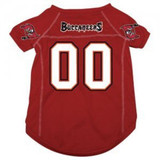 Tampa Bay Buccaneers Dog Pet Mesh Football Jersey