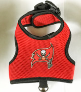 Tampa Bay Buccaneers Dog Pet Premium Mesh Vest Harness