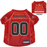 Tampa Bay Buccaneers Dog Pet Premium Mesh Football Jersey