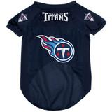 Tennessee Titans Dog Pet Mesh Alternate Football Jersey