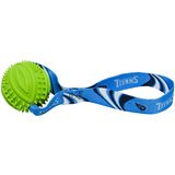 Tennessee Titans Dog Rubber Ball Tug Toss Toy