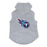 Tennessee Titans Dog Pet Premium Button Up Embroidered Hoodie Sweatshirt