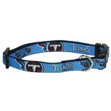 Tennessee Titans Dog Pet Premium Adjustable Nylon Collar