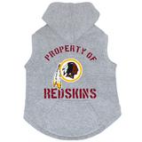 Washington Redskins Dog Pet Premium Button Up Property Of Hoodie Sweatshirt