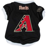 Arizona Diamondbacks Dog Pet Baseball Jersey Alternate
