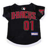 Arizona Diamondbacks Dog Pet Premium Baseball Jersey