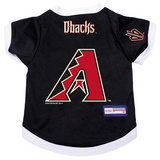 Arizona Diamondbacks Dog Pet Premium Baseball Jersey Alternate