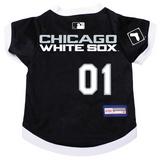 Chicago White Sox Dog Pet Premium Baseball Jersey