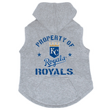 Kansas City Royals Dog Pet Premium Button Up Property Of Hoodie Sweatshirt
