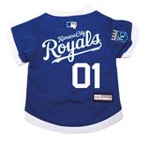 Kansas City Royals Dog Pet Premium Baseball Jersey