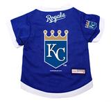 Kansas City Royals Dog Pet Premium Baseball Jersey Alternate