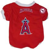 Los Angeles Angels Dog Pet Baseball Jersey Alternate