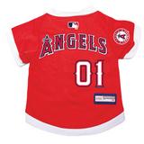Los Angeles Angels Dog Pet Premium Baseball Jersey