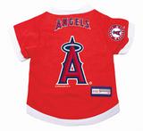 Los Angeles Angels Dog Pet Premium Baseball Jersey Alternate