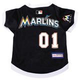 Miami Marlins Dog Pet Premium Baseball Jersey