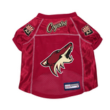 Arizona Coyotes Dog Pet Premium Mesh Hockey Jersey