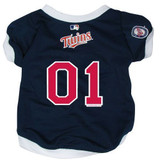 Minnesota Twins Dog Pet Baseball Jersey