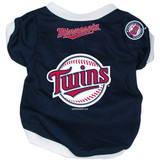 Minnesota Twins Dog Pet Baseball Jersey Alternate