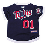 Minnesota Twins Dog Pet Premium Baseball Jersey