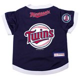 Minnesota Twins Dog Pet Premium Baseball Jersey Alternate