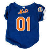 New York Mets Dog Pet Baseball Jersey