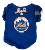 New York Mets Dog Pet Baseball Jersey Alternate