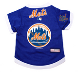 New York Mets Dog Pet Premium Baseball Jersey Alternate