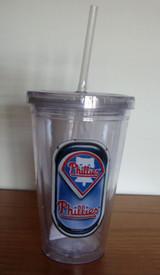 Philadelphia Phillies Sip n Go Travel Tumbler w/ Straw 16oz