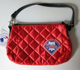 Philadelphia Phillies Quilted Wristlet Purse