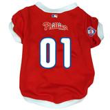 Philadelphia Phillies Dog Pet Baseball Jersey
