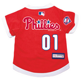 Philadelphia Phillies Dog Pet Premium Baseball Jersey