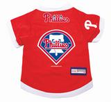 Philadelphia Phillies Dog Pet Premium Baseball Jersey Alternate