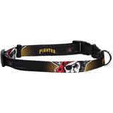 Pittsburgh Pirates Dog Pet Adjustable Nylon Collar