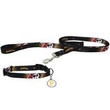 Pittsburgh Pirates Dog 3pc Pet Set Leash Collar ID Tag