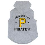 Pittsburgh Pirates Dog Pet Premium Button Up Property Of Hoodie Sweatshirt
