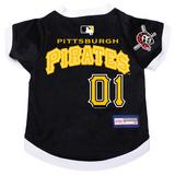 Pittsburgh Pirates Dog Pet Premium Baseball Jersey