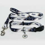 San Diego Padres Dog 3pc Pet Set Leash Collar ID Tag