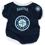 Seattle Mariners Dog Pet Baseball Jersey Alternate