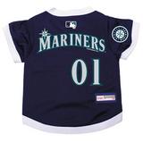 Seattle Mariners Dog Pet Premium Baseball Jersey