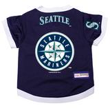 Seattle Mariners Dog Pet Premium Baseball Jersey Alternate