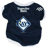 Tampa Bay Rays Dog Pet Baseball Jersey Alternate