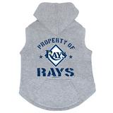 Tampa Bay Rays Dog Pet Premium Button Up Property Of Hoodie Sweatshirt