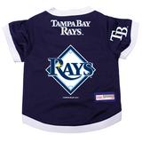 Tampa Bay Rays Dog Pet Premium Baseball Jersey Alternate