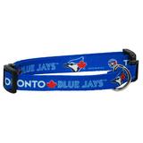 Toronto Blue Jays Dog Pet Adjustable Nylon Collar